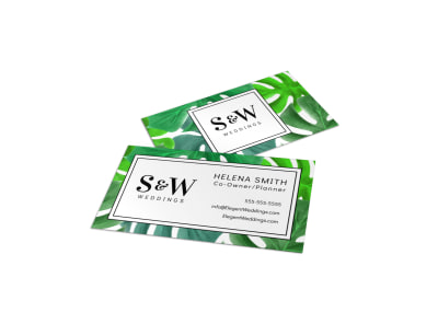 Wedding Planner Business Card Template oexhyvuhq0 preview