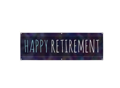 Retirement Party Banner Template ikw2uxtipp preview