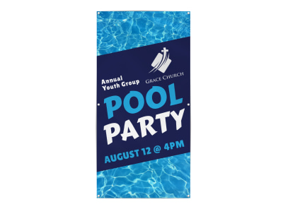 Pool Party Banner Template ph7n26e68w preview
