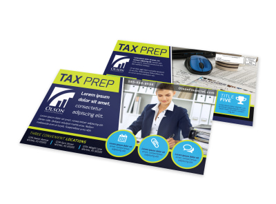 Tax EDDM Postcard Template 0839s0c9gy preview