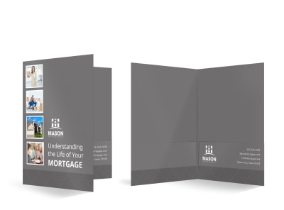 Mortgage Bi-Fold Pocket Folder Template 4ia4gn75ln preview