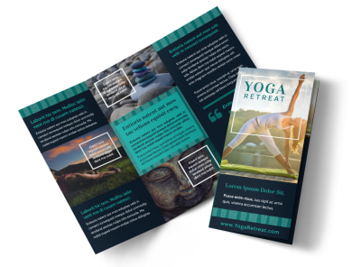 Yoga Retreat Tri-Fold Brochure Template 4tyygfnk2f preview