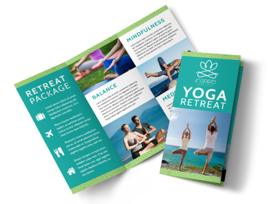 Yoga Retreat Tri-Fold Brochure Template csate8cai1 preview