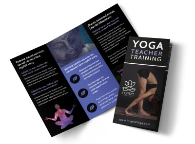Yoga Teacher Training Tri-Fold Brochure Template bqpbtgx7lw preview