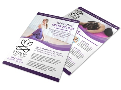 Yoga Instructor Info Flyer Template cjlhgo701e preview