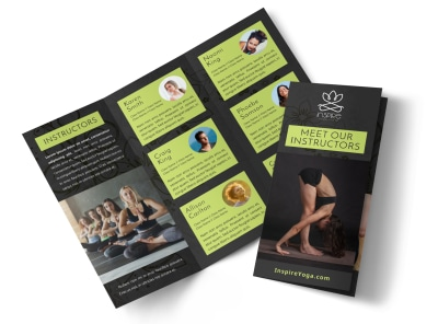 Yoga Instructor Info Tri-Fold Brochure Template 0uh20gkwfr preview