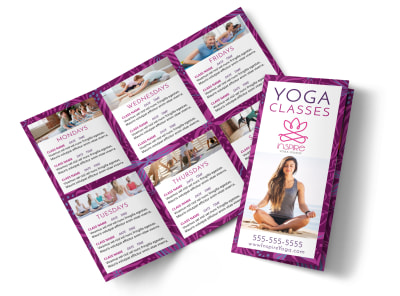 Yoga Class Detail Tri-Fold Brochure Template eirgn2eh4f preview
