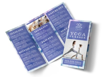 Yoga Class Detail Tri-Fold Brochure Template j7gh58f9p3 preview