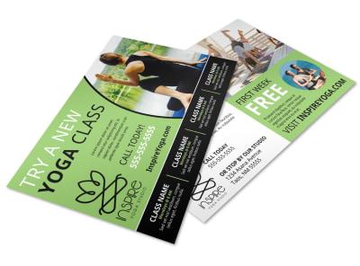 Yoga Class Detail Postcard Template 3j3t06r9fv preview
