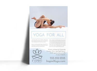 Yoga Studio Poster Template cd19i89uqc preview