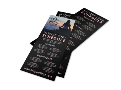 Yoga Schedule Flyer Template kfbjy1rchm preview