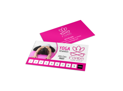 Yoga Punch Card Template dfw7x7brlq preview