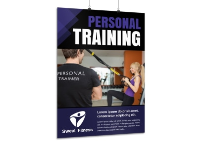 Personal Training Promo Poster Template zar4latp63 preview