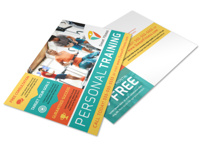 Personal Training Promo Postcard Template 30y5nnd2lt preview
