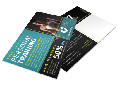 Personal Training Promo Postcard Template 3gck6jjul0 preview