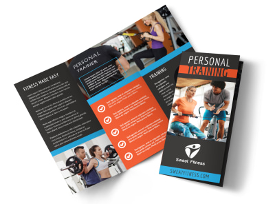 Personal Training Services Tri-Fold Brochure Template pyx3seadl7 preview