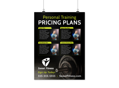 Personal Training Pricing Plan Poster Template 03f8xtvwko preview