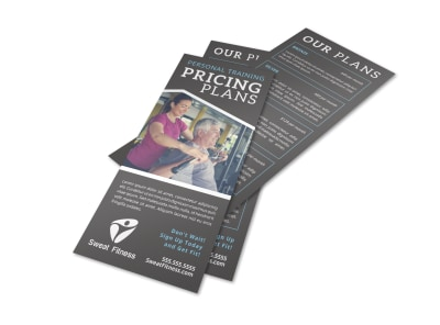 Personal Training Pricing Plan Flyer Template wt7zynjrhy preview