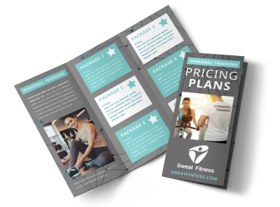 Personal Training Pricing Plan Tri-Fold Brochure Template agbdwvtzg8 preview