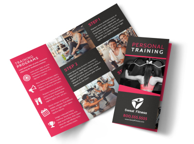 Personal Training Pricing Plan Tri-Fold Brochure Template sn27932b2y preview