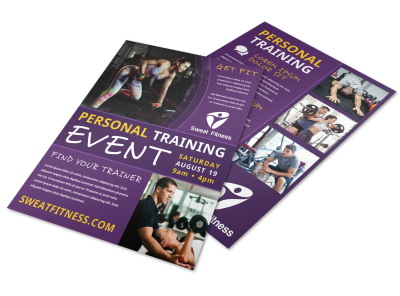 Person Training Event Flyer Template aejc6i1az5 preview