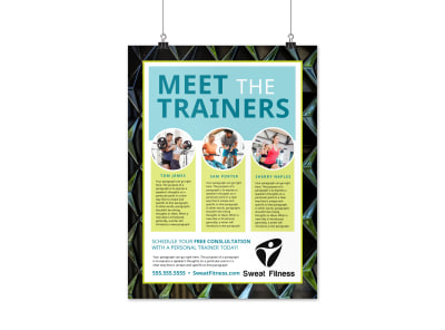 About The Trainers Poster Template 0dq6xo8gsj preview