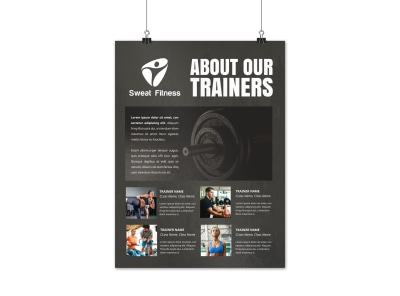 About The Trainers Poster Template 9fzcyl2cb6 preview