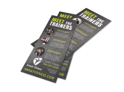 About The Trainers Flyer Template q40ozbp6op preview