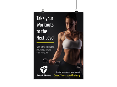 Personal Training Services Poster Template 8b2ctiq3d0 preview