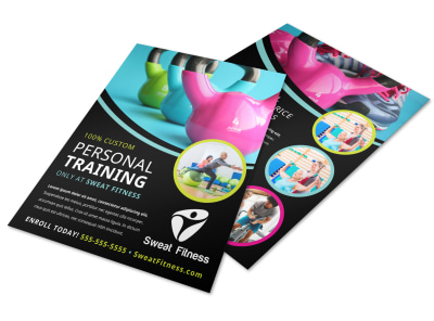 Personal Training Services Offered Flyer Template r2brjzyw6e preview