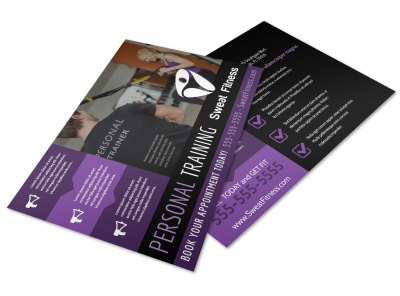Personal Training Services Offered Postcard Template uwf1ti2p6x preview