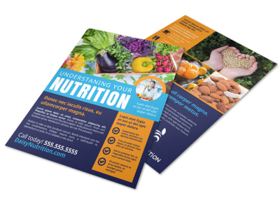 Nutrition Education Flyer Template mef2vqciwn preview