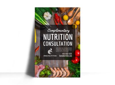 Consultation Nutrition Poster Template ymrdc8n1sd preview
