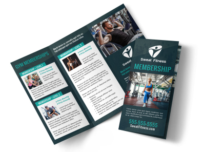 Fitness Membership Detail Tri-Fold Brochure Template 2ou31m26uj preview