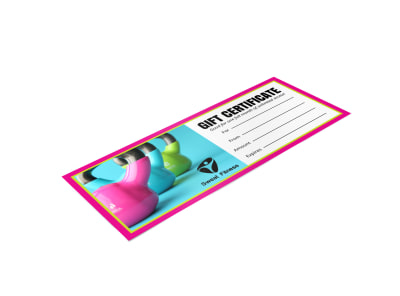 Fitness Gift Certificate Template rhckonb1b3 preview