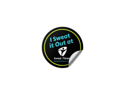 Fitness Sticker Template jeu8fo0wvx preview