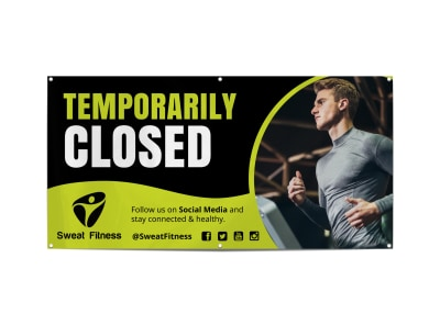 Coronavirus Temporarily Closed Banner Template 593pg7tduv preview