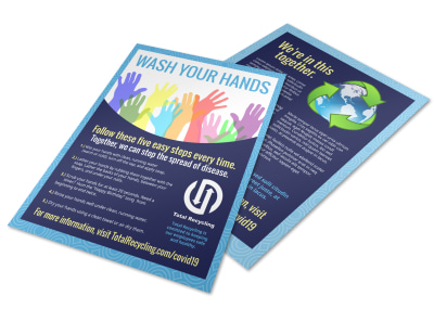 Wash Your Hands Flyer Template 814odg6kl0 preview