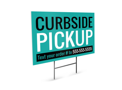 Curbside Pickup Yard Sign Template ehhkeb9nje preview