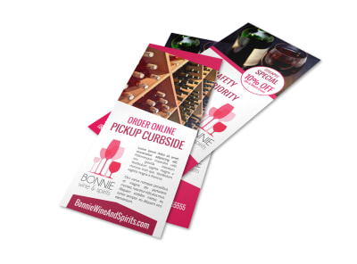 Curbside Pickup Promo Flyer Template 9mlrs7zuro preview
