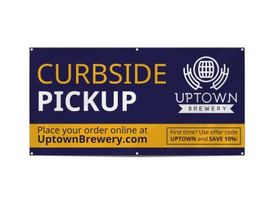 Curbside Pickup Restaurant Banner Template f69355f30d preview