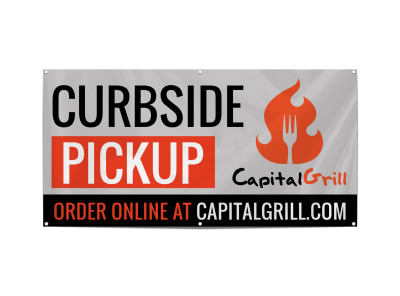 Curbside Pickup Restaurant Banner Template 7g2nypztvs preview