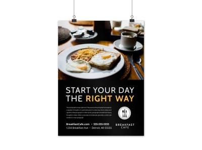 Cafe Restaurant Poster Template 1biwg39ks8 preview