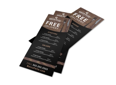 Delivery Service Restaurant Flyer Template bv8ga40he8 preview