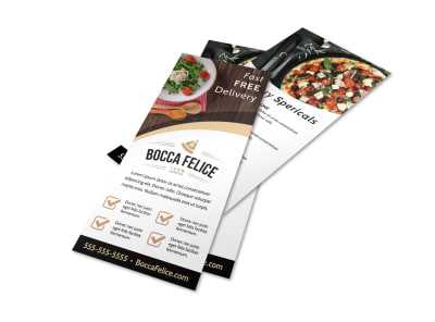 Delivery Service Restaurant Flyer Template 84mvalo28p preview