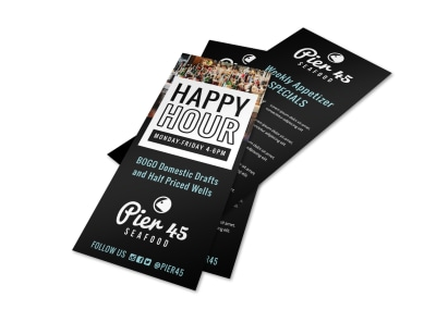 Happy Hour Restaurant Flyer Template 6q7nbr18i8 preview