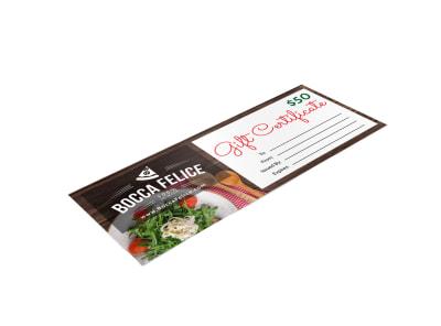 Italian Restaurant Gift Certificate Template jkpikaclbn preview