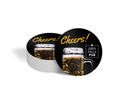 Pub Restaurant Coaster Template 59yfcinoyw preview