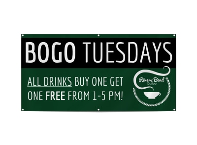 BOGO Coffee Shop Banner Template yow0e8i90q preview