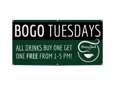 BOGO Coffee Shop Banner Template yow0e8i90q preview